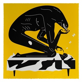 The Nightmare (Yellow) by Cleon Peterson