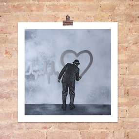 Love Goes On (Silver) by Nick Walker