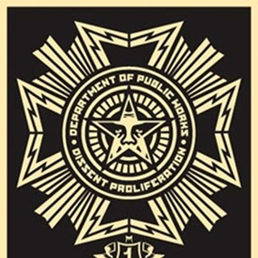 Public Works Medal by Shepard Fairey