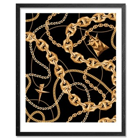Black Gold Chains by Naturel