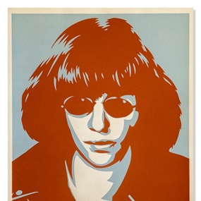 Ramone Poster by Shepard Fairey