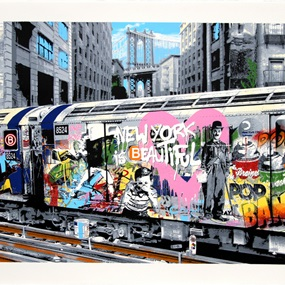 B-Line (New York Is Beautiful) (First Edition) by Mr Brainwash
