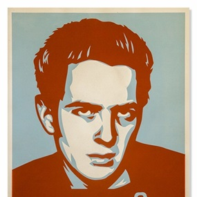 Strummer Poster by Shepard Fairey