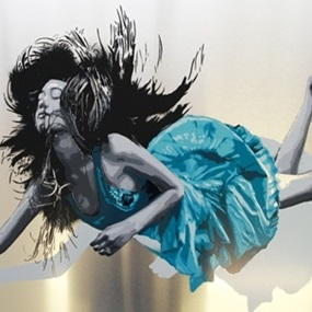 We Are All Falling (Aluminium Blue) by Snik