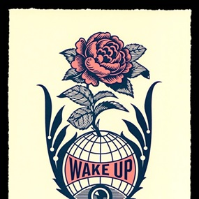 Wake Up Earth by Shepard Fairey
