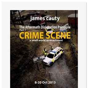 ADP Promo Preview Print 15 - Crime Scene by James Cauty