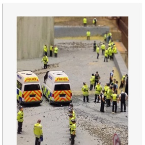 ADP Promo Preview Print 16 - Press Shot 1 - No Right Turn by James Cauty