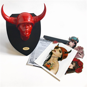 Bullheaded (Blood Red Edition) by Brian Viveros