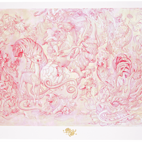 Hunting Party II (Vermillion) by James Jean