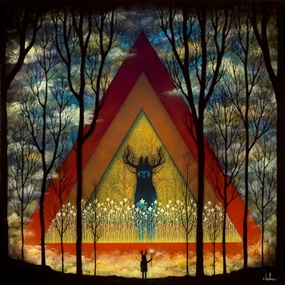 Summoning The Dusken Wanderer by Andy Kehoe