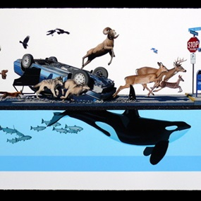 Stampede (First Edition) by Josh Keyes