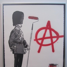 London Print by Mr Brainwash