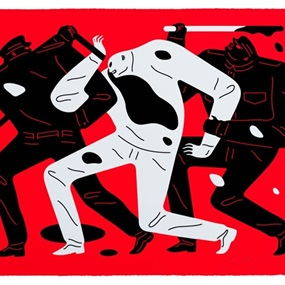 The Disappeared (Red) by Cleon Peterson