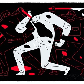 The Disappeared (Black) by Cleon Peterson