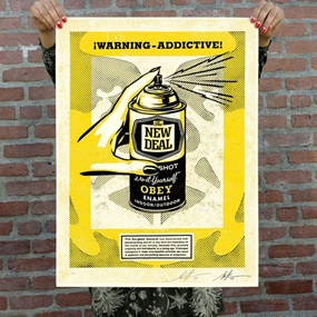 Warning Addictive (Second Edition) by Shepard Fairey