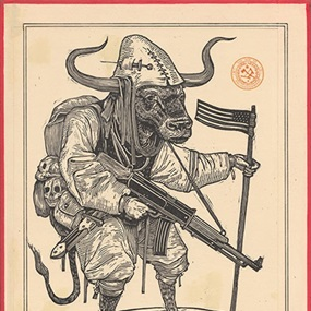 American Ox by Ravi Zupa
