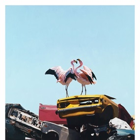 Almost Paradise by Josh Keyes
