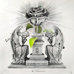 In Greed We Trust (Neo-Classicism) by Ludo