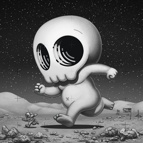 Skully III (Moon) (First Edition) by Mike Mitchell