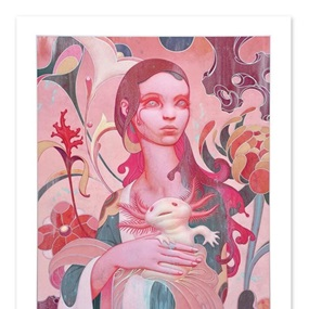 Lady With An Axolotl (Timed Edition) by James Jean