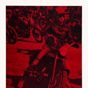 Brando On Bike (First Edition) by Russell Young