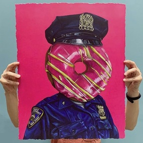 Officer Pinkmen (Timed Edition) by Jimmer Willmott