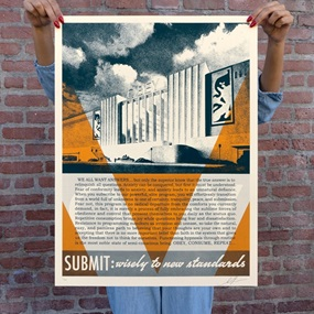 Obey Conformity Factory (Orange) by Shepard Fairey