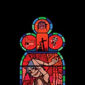 Medium Window Right (Unsigned) by Jamie Hewlett