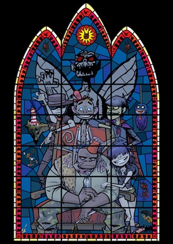 Large Window (Unsigned) by Jamie Hewlett