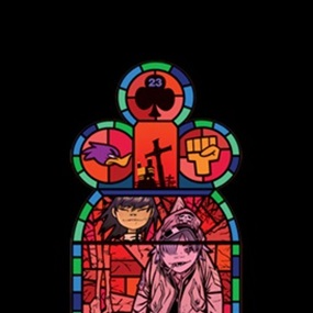 Medium Window Left (Unsigned) by Jamie Hewlett