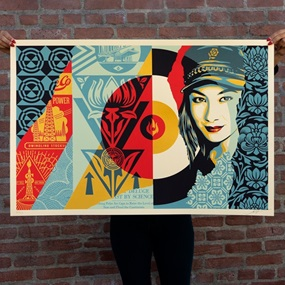 Raise The Level by Shepard Fairey