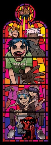 Small Window Left  by Jamie Hewlett