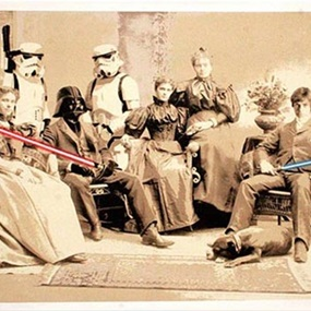 Star Wars Reunion by Mr Brainwash