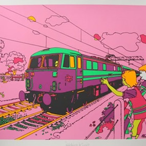 Pink Train by Eine
