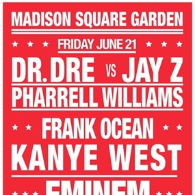 "Dream Concert ""Madison Square Garden"" (First Edition) by André"