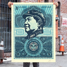 Mao Money (Large Format) by Shepard Fairey