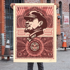 Lenin Money (Large Format) by Shepard Fairey