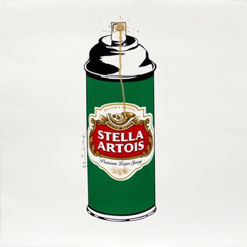 Stella Spray  by Mr Brainwash