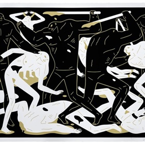 Between Man & God (Black) by Cleon Peterson
