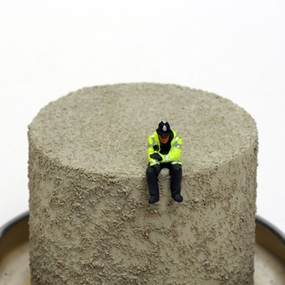 THE AFTERMATH DISLOCATION PRINCIPLE: Do Plastic Policemen Dream of Model Railways? by James Cauty
