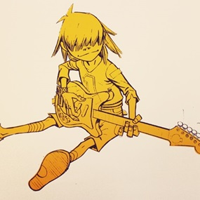Noodle (Signed) by Jamie Hewlett