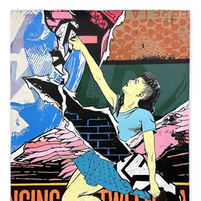 Dancing Between Angels (First Edition) by Faile