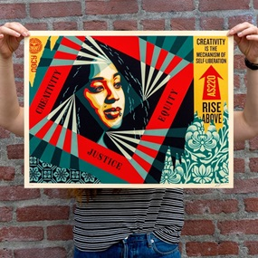 Creativity, Equity, Justice by Shepard Fairey