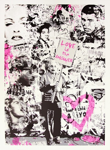 Keep A Child Alive  by Mr Brainwash