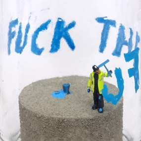 Fuck the Law, Fuck the Order and Fuck the Fucking Fuckers by James Cauty