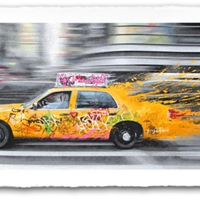 Going To NY by Mr Brainwash