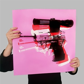 Warhol Meets Megatron (Pink) by Copyright