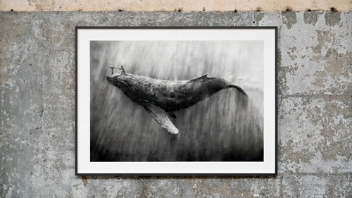 Ahab (First Edition) by Pejac