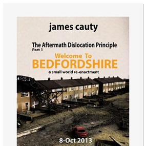 ADP Promo Preview Print 9 - Welcome To Bedfordshire by James Cauty