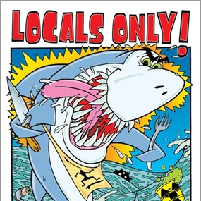 Locals Only by Frank Kozik